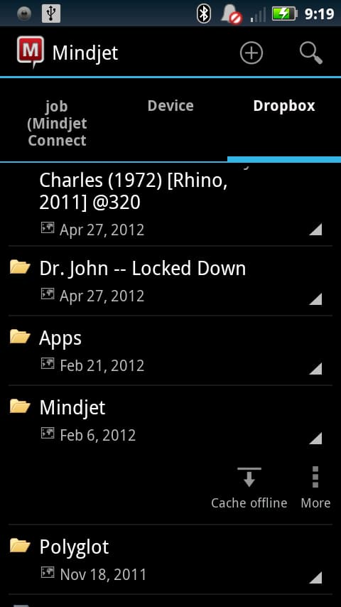 Mindjet for Android screen shot