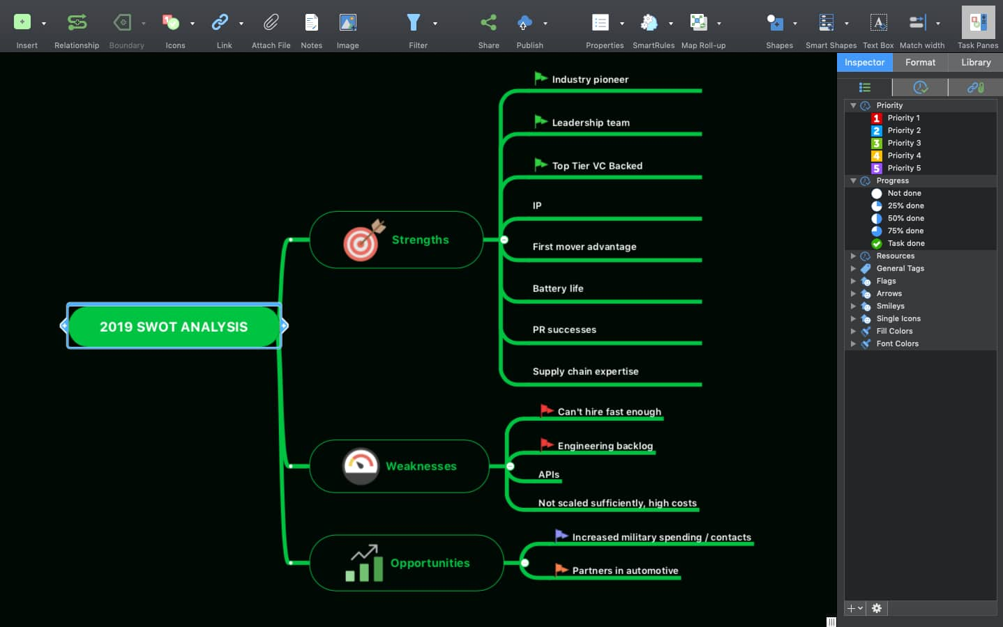 MindManager 12 for Mac | Dark Mode Support