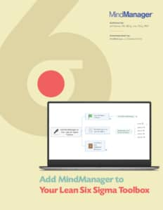 Add MindManager to Your Lean Six Sigma Toolbox